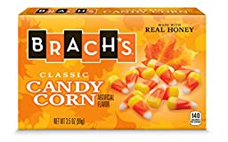 Brach\'s Candy Corn, 3.5 Ounce Theatre Box, Pack of 12