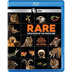 Rare: Creatures of the Photo Ark Blu-ray [Blu-ray]