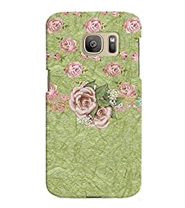 GADGET LOOKS PRINTED BACK COVER FOR SAMSUNG GALAXY S7 MULTICOLOUR