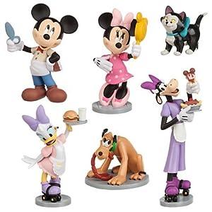 Amazon.com: Disney Exclusive Minnie Mouse Figurine Play