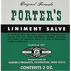 Porters Liniment Salve - Two Pack 2 oz. Tins