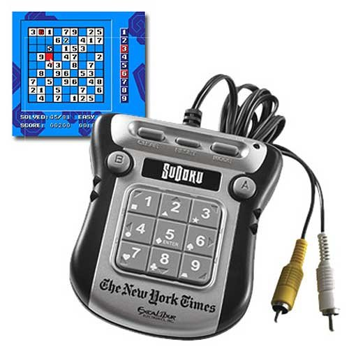 Cheap Excalibur Excalibur New York Times Sudoku Plug and Play (B001C3M0VQ)
