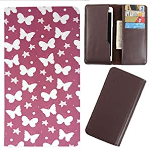 DooDa - For Karbonn Titanium S8 PU Leather Designer Fashionable Fancy Case Cover Pouch With Card & Cash Slots & Smooth Inner Velvet