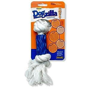 Petmate Dogzilla Rope Dog Toy Swirl, Mini