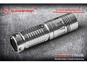 Sunwayman V10R Ti Plus 210 Lumens LED Flashlight Titanium Finish