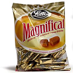 Lutti Magnificat French Caramels made with Creme Fraiche - 3.5 oz