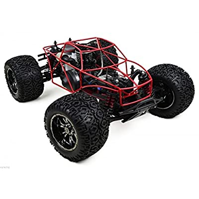 (Ship from USA) Losi LST XXL Or XXL 2 Powder Coated Red Roll Cage By VG Racing