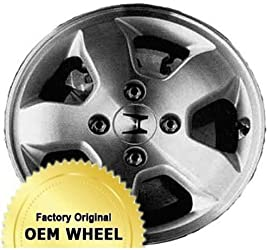 HONDA ACCORD 15×6 Factory Oem Wheel Rim- MACHINED FACE SILVER – Remanufactured
