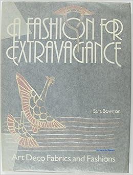 Fashion for extravagance art deco fabrics and fashions sara bowman - Deco fabriek ...