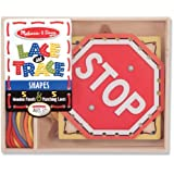 Melissa & Doug Lace and Trace Shapes