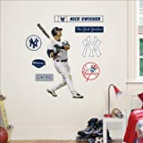 Fathead MLB New York Yankees Nick Swisher Junior Wall Graphic