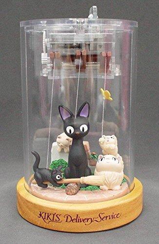 Studio Ghibli puppet music box Majo Kiki's delivery service Jiji (Kiki Delivery Service Music Box compare prices)