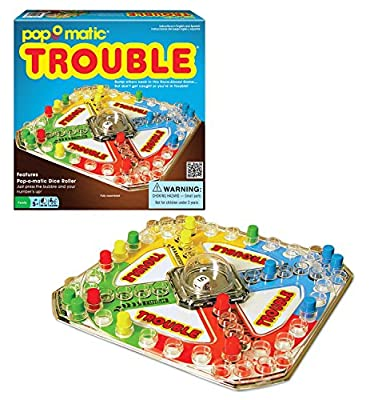 Classic Trouble Board Game Pack-2 by Winning Moves Games