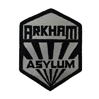 batman asylum patch