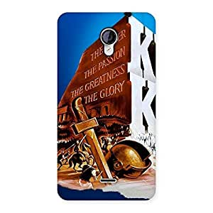 Enticing King Power Back Case Cover for Micromax Unite 2 A106