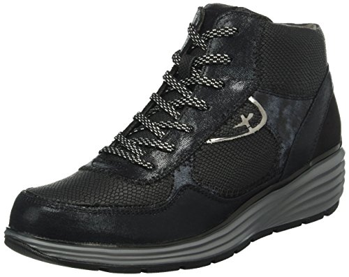 tamaris-damen-25826-hohe-sneakers-schwarz-black-strcomb-053-39-eu