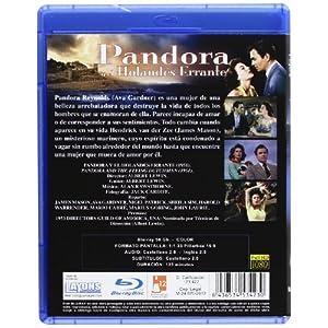 Pandora Y El Holandés Errante [Blu-ray] [Import espagnol]