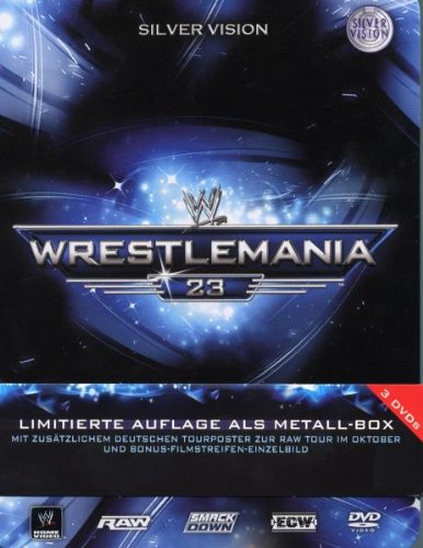 WWE - Wrestlemania 23 (3 DVDs / Limited Edition)