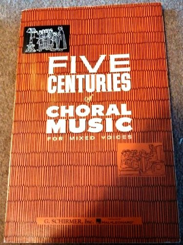 FIVE CENT.OF CHORAL MUSIC F/MI