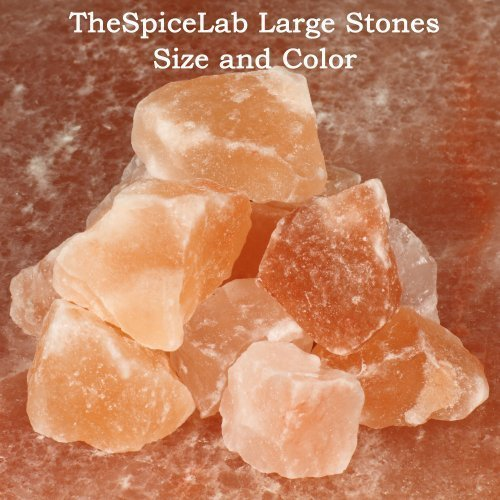 The Spice Lab's Himalayan Bath Salt Stones - Natural - 2.2 Lbs