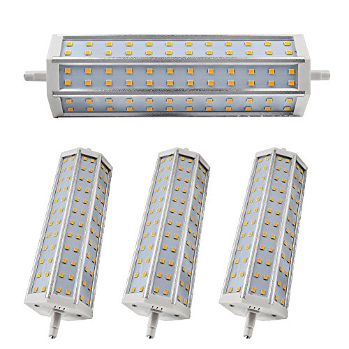 4X Smd 2835 Led R7S Bulb 14W Dimmable Lighting 1296Lm Warm White Low Consumption Ac 85-265V