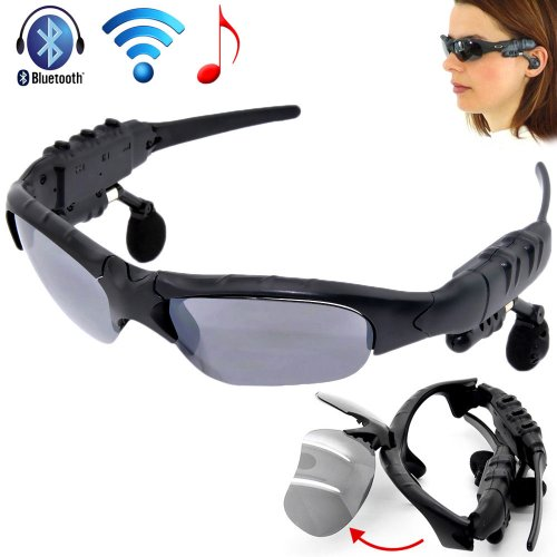 Sunglasses Bluetooth Glass Sun Glasses Headset Headphone For Samsung Galaxy S4