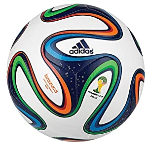 Adidas Brazuca Mini World Cup Soccer Ball 1 White/multi Color