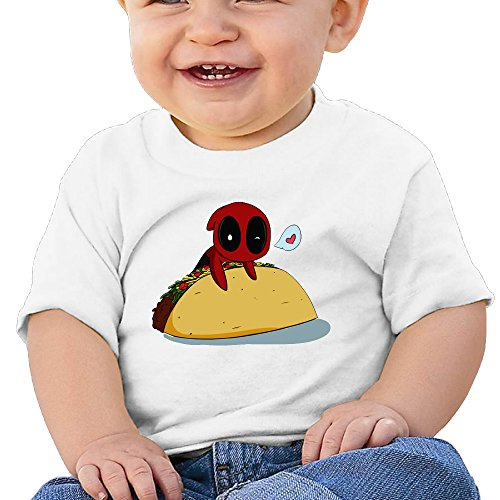 Logon 8 Ultimate Spider-Man ToddlerInfant Kids T-Shirt White