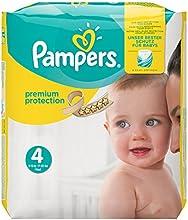 Pampers Premium Protection Größe 4 (Maxi) 8-16 kg, Windeln, 1er Pack (1 x 168 Stück)