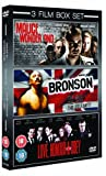 Malice In Wonderland/Bronson/Love, Honour And Obey [DVD]