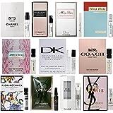 12 Perfume Sample Vial Set of Women's Designer Fragrances