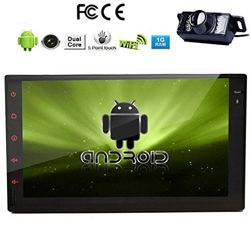 Telecamera posteriore Incluso !!! Android 4.2 Dual-Core CPU da 7 pollici Car PC Tablet None-Lettore DVD Radio 2 DIN schermo capacitivo in-dash navigatore GPS Bluetooth, navigazione GPS-Ready, iPod-Input, RDS, Wi-Fi