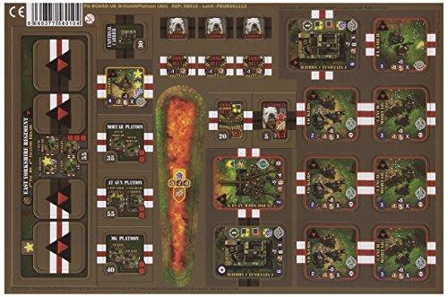 Heroes of Normandie - UK Heavy Weapon Platoon Board Game