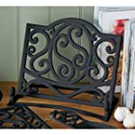 Fabulous Cast Iron Cook book Stand Bl...