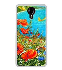 Colourful Painting 2D Hard Polycarbonate Designer Back Case Cover for Micromax Canvas Xpress 2 E313