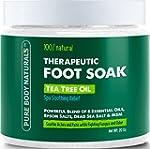 Foot Soak with Tea Tree Oil and Epsom...