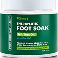 Foot Soak with Tea Tree Oil and Epsom…