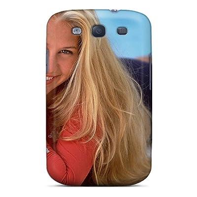 Hot Ema4299QPJb Anna Kournikova Tpu Case Cover Compatible With Galaxy S3