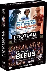 Coffret Football : Dans le secret des Bleus + L'odyssée des Bleus