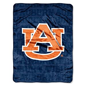 Click here to buy NCAA Auburn Tigers 46-Inch-by-60-Inch Micro-Raschel Blanket, Grunge Design by Northwest.