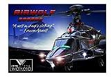 <ワルケラ正規代理店ゴーウエル>Walkera Airwolf 200SD3 BNF CNC メタル製 Flybarless 6チャネルの 3軸 RCヘリコプター(DEVO送信機用)≪超音速攻撃ヘリ エアーウルフ≫