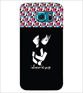 PrintDhaba Quote D-3189 Back Case Cover for SAMSUNG GALAXY S6 (Multi-Coloured)