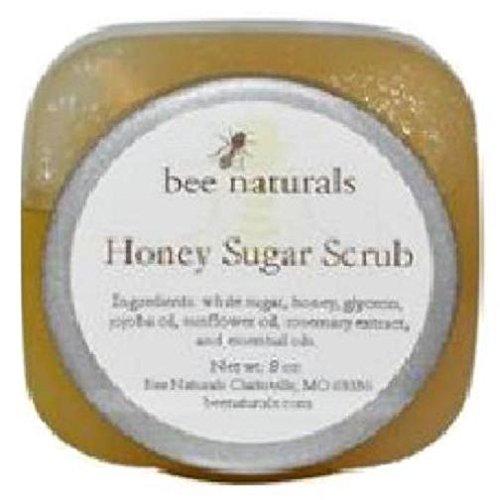 ビーナチュラルズ ハニーシュガースクラブ Bee Naturals, Honey Sugar Scrub はちみつとお砂糖のスクラブ オーガニック スクラブ ピーリング
