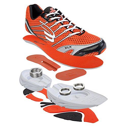 Spira Srx202 Womens Stinger Mandarin/White/Jet Stinger Shoe Size -12