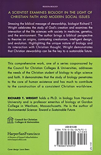 Biology Through the Eyes of Faith: Christian College Coalition Series (Through the Eyes of Faith Series)