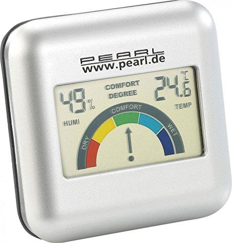 Hygromètre digital à piles avec température