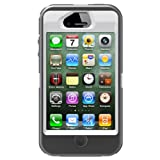 OtterBox iPhone 4/4S Defender, 77-18579 (Grey/White)
