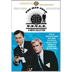 Man From U.N.C.L.E., The: 8 Movies Collection (4 Disc)
