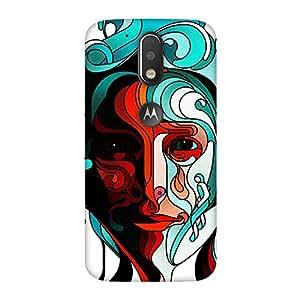 FASHEEN Premium Designer Soft Case Back Cover for Motorola Moto G4
