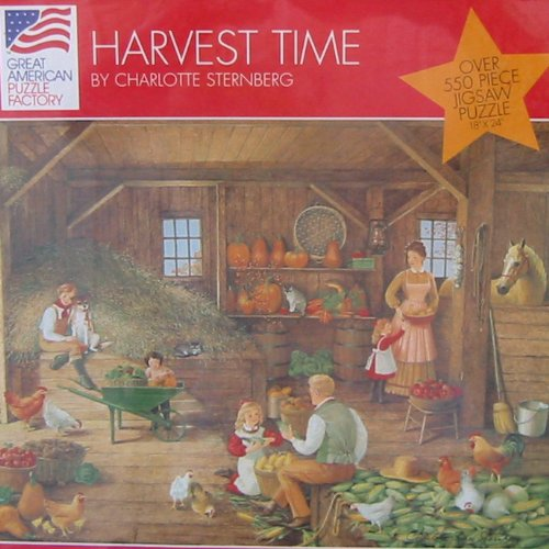 Harvest Time Jigsaw Puzzle